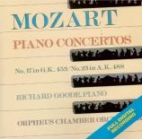 MOZART - Goode - Concerto pour piano et orchestre n°23 en la majeur K.48