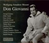 MOZART - Moralt - Don Giovanni (Don Juan), dramma giocoso en deux actes