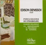 DENISOV - Van Gucht - Sonate pour saxophone et piano
