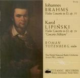 BRAHMS - Totenberg - Concerto pour violon et orchestre en ré majeur op.7