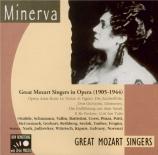 Great Mozart Singers in Opera