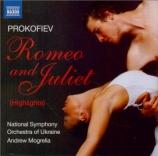 PROKOFIEV - Mogrelia - Romeo et Juliette op.64 : extraits