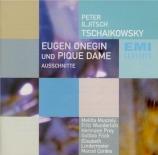 TCHAIKOVSKY - Schüchter - Eugène Onéguine op.24 : extraits En langue allemande