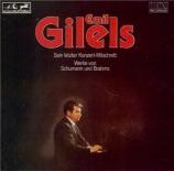 SCHUMANN - Gilels - Études symphoniques, pour piano op.13 Son dernier concert, mars 1984, Japon