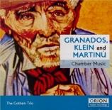 GRANADOS - Gotham Trio (Th - Trio op50