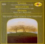 VANHAL - Zenaty - Concerto pour violon en si bémol majeur Weinmann IIb:B