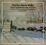 WIDOR - Schmitt - Symphonie pour orgue et orchestre n°3 op.69