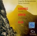 KARLOWICZ - Stabrawa - Sérénade pour orchestre à cordes op.2
