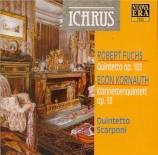 FUCHS - Quintetto Scarp - Quintette avec clarinette op.102
