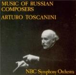 Arturo Toscanini Memorial vol.8 - Music of Russian Composers
