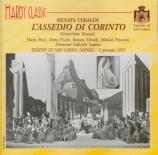 ROSSINI - Santini - L'assedio di Corinto (Live à Naples, 2 janvier 1952) Live à Naples, 2 janvier 1952