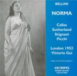 BELLINI - Gui - Norma (Live à Londres, 18 novembre 1952) Live à Londres, 18 novembre 1952