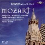 MOZART - Matt - Requiem pour solistes, chœur et orchestre en ré mineur K