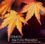 Songs & arias; Metamorphosen