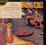 BRITTEN - Best - Saint Nicolas (Crozier), cantate pour solistes, chœur