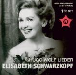 WOLF - Schwarzkopf - Im Frühling, pour voix et piano Live Salzburg, 27 - 7 - 1958