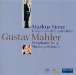 MAHLER - Stenz - Symphonie n°3