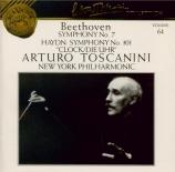 BEETHOVEN - Toscanini - Symphonie n°7 op.92