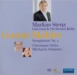MAHLER - Stenz - Symphonie n°2 'Résurrection'