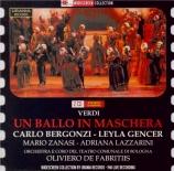 VERDI - De Fabritiis - Un ballo in maschera (Un bal masqué), opéra en tr