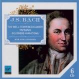 BACH - Asperen - Le clavier bien tempéré, Livres 1 et 2 BWV 846-893