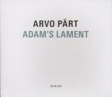 PÄRT - Kaljuste - Adam's lament