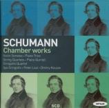 SCHUMANN - Gringolts Quart - Sonate pour violon et piano n°1 en la mineu