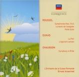 ROUSSEL - Ansermet - Le festin de l'araignée op.17
