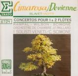 DEVIENNE - Rampal - Symphonie concertante pour 2 flûtes op.76