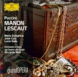 PUCCINI - Muti - Manon Lescaut