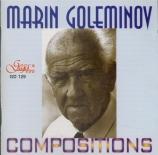 GOLEMINOV - Goleminov - Dyptique, pour flûte et orchestre