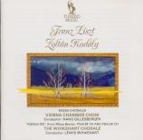 LISZT - Gillesberger - Missa choralis, pour choeur et orgue S.10
