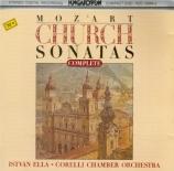 MOZART - Ella - Sonate d'église n°16, pour orgue et orchestre en do maje