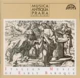 Italian Music of Early Baroque