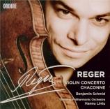 REGER - Schmid - Concerto pour violon et orchestre en la majeur op.101