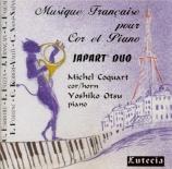 Musique française pour cor et piano