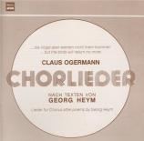 Chorlieder