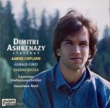 COPLAND - Ashkenazy - Concerto pour clarinette