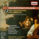 Blockflötenmusik des Italienischen Hochbarock