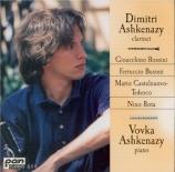 Italian Music for Clarinet and Piano