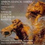 VIVALDI - Stanciu Syrinx - Concerto pour deux violons, violoncelle, cord Transcriptions