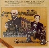 HONEGGER - Schwarz - Concerto da camera pour flûte, cor anglais et corde