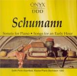 SCHUMANN - Picht-Axenfeld - Sonate pour piano n°3 en fa mineur op.14 'Co