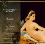 MOZART - Rischner - Zaïde (Das Serail), singspiel en deux actes K.344 (K Live Stuttgart 24 - 10 - 1956