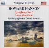 HANSON - Schwarz - Symphonie n°3 op.63