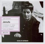 JANACEK - Matacic - Jenufa, opéra (Live Frankfurt 29 - 9 - 1961) Live Frankfurt 29 - 9 - 1961