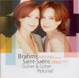 BRAHMS - Pekinel - Sonate pour deux pianos op.34b (transcription du quin