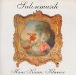 Hans Kann spielt Salonmusik
