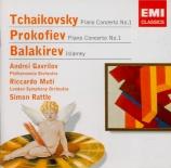 TCHAIKOVSKY - Gavrilov - Concerto pour piano n°1 en si bémol mineur op.2