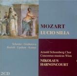 MOZART - Harnoncourt - Lucio Silla, drame musical en trois actes K.135